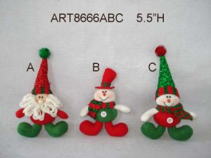 Santa and Snowman Christmas Card Holder Decoration Gift pictures & photos