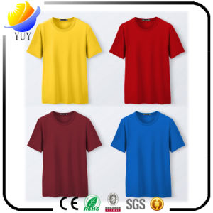 High Sales of Adult Fashion Casual Cotton T-Shirt Can Customize Logo pictures & photos
