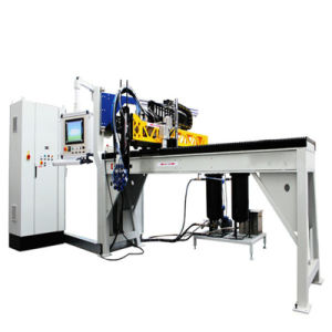 Silicon Foam Dosing and Potting Machine for Metal Pieces pictures & photos