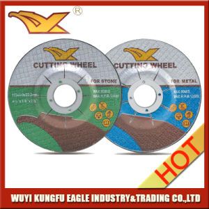 4.5′′ 115X3.0X22.2 mm T42 Abrasive Metal Cutting Discs with MPa En-12413 pictures & photos