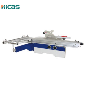 Manual Sliding Table Panel Saw with Scoring Blade pictures & photos