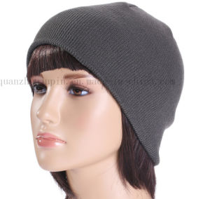 OEM Hot Sale Fashion Winter Warm Ski Knitted Hat pictures & photos