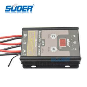 Suoer 12V 30A Waterproof PWM Intelligent Solar Charger Controller (ST-F1230) pictures & photos