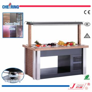 Cheering Static Cooling Salad Bar for Buffet pictures & photos