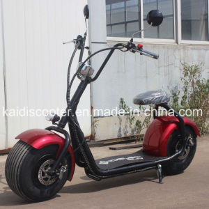 EEC Certificated E Scooter Fat Tire 1000W 60V Harley for Euro Countries pictures & photos