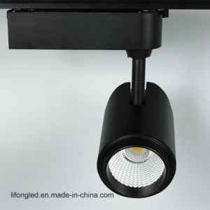 Adjustable 15W LED Track Lights COB Spotlight for Shop pictures & photos