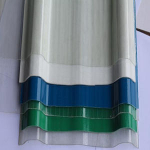 Construction Material Corrugated FRP Roofing Sheet with Cheap Price pictures & photos