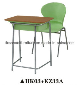 High Quality Student Table and Chair for School Classroom pictures & photos