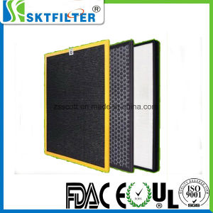 OEM Air Purifier HEPA Filter for Cleaning Room pictures & photos
