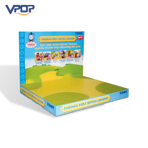 Custom Cardboard Paper Display Packaging Box for Thomas Post