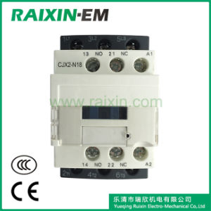 Raixin New Type Cjx2-N18 AC Contactor 3p AC-3 380V 7.5kw pictures & photos