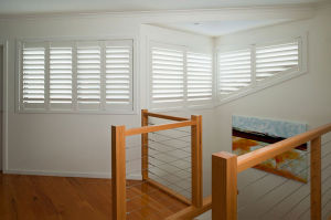 Australia and India White Window Blind Wooden Poplar pictures & photos