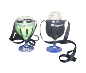 Polyester Wine Glass Holder Lanyard pictures & photos