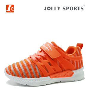 New Born Little Kid Infant Children Flyknit Baby Boys Girls Shoes pictures & photos
