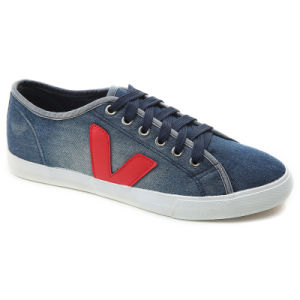2017 New Menshoes Canvas Casual Vulcanized Jean Fashion Men Sport Shoes pictures & photos