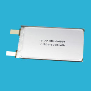 5000mAh 3.7V Lithium Battery for Consumer Electronics Ce Kc pictures & photos