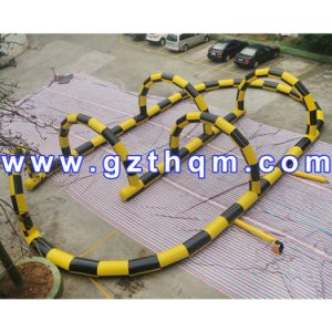Inflatable Race Track Roller Raceway/Attractive Games Adult Inflatable Race Track pictures & photos