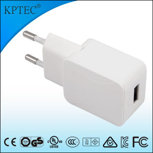 5V 1A AC/DC Adapter with Ce and RoHS Reach EU Plug pictures & photos