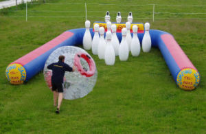 Advertising Inflatable Human Bowling Pin Field for Sale pictures & photos
