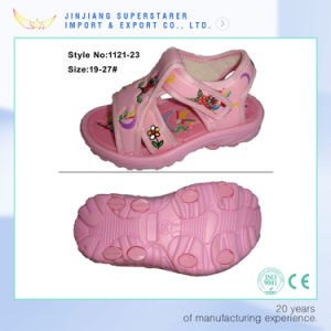 Newest Design Top Quality Baby Girl Sandals pictures & photos