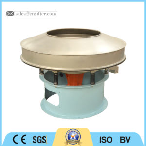 Stainless Steel 304 Rotary Vibrating Sieve for Liquid Filtering pictures & photos