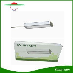 Solar Outdoor Radar Motion Sensor Light 48 LED Lamp with 3000mAh Battery Highlight Waterproof Lighting Garden Path Light pictures & photos