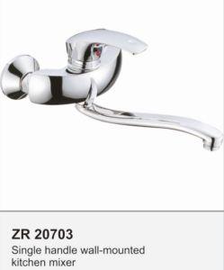Long Spout Kitchen Mixer Brass Kitchen Faucet pictures & photos