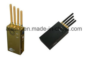 4CH portable Handheld 2g 3G 4G 2.4G WiFi Mobile Signal Jammer pictures & photos