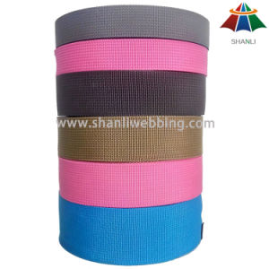 2 Inch 5cm Colorful Flat 900d PP Webbing for Bags pictures & photos