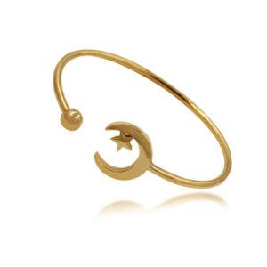 2017 Best Selling Jewelry Accessories Stainless Steel Moon Bracelet