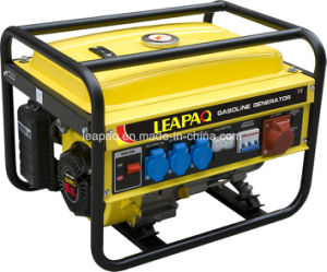 2.5kw Three Phase Portable Gasoline Generator pictures & photos
