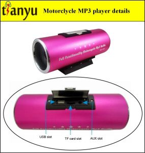 Motorcycle MP3 FM Transmitter with Alarm System 991 pictures & photos