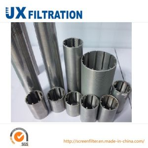 Stainless Steel Wedge Wire Wrapped Slot Tube pictures & photos