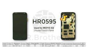 Wholesale Mobile/Cell Phone LCD for Moto X2 Touch Screen Display pictures & photos