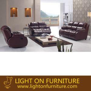 Luxury Antique Living Room Leather Sofa (LR046) pictures & photos