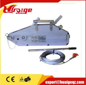 0.8t-5.4t Aluminium Body Wire Rope Pulling Hoist pictures & photos