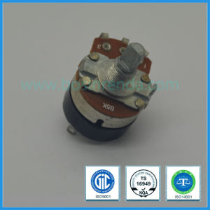 24mm High Rate Rotary Potentiometer with Switch for Audio Equipment pictures & photos