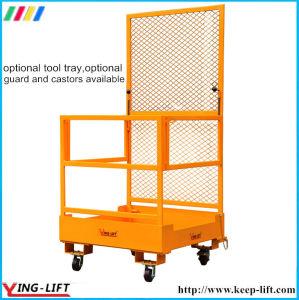 Load Capacity 300kg Forklift Safety Maintenance Platform pictures & photos