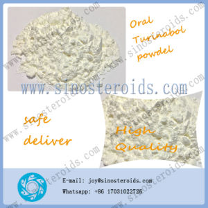 Raw Steroid Powder Tbol 4-Chlorodehy Hormone Oral Turinabol for Bodybuilding pictures & photos