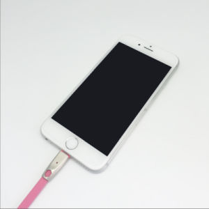 White Black Smart USB Cable Changing Colors LED Cable pictures & photos