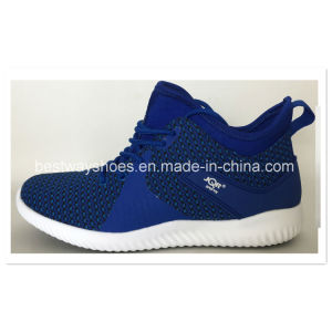 Footwear Sports Shoes Flyknit Shoes Casual Sneaker Men Shoes pictures & photos