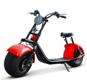 60V 20ah Harley Electric Scooter 800W 1000W 1500W Citycoco with Suspension Front Fork Seev Citycoco pictures & photos