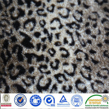 Velour Super Soft Polyester Knitted Fabric pictures & photos