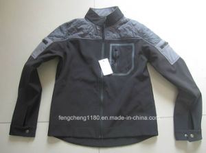 Men Fashion Outdoor Seamless Pocket Softshell Jacket/Coat (1012) pictures & photos