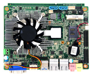 3.5inch Hm77 Embedded Motherboard with Core I3/I5/I7 Processor pictures & photos