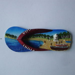 Custom Natural Scenery 3D Resin Fridge Magnet for Promotion pictures & photos