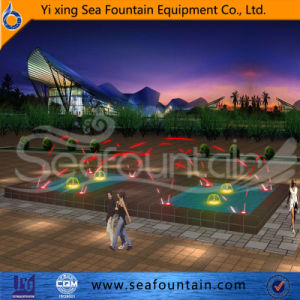 Program Control Easy Installnation Interactive Fountain pictures & photos