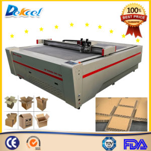 CNC Oscillating Knife Cutting Plotter Machine for Cardboard, Corrugated Board, Carton Box pictures & photos