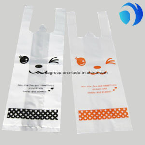 HDPE Plastic T-Shirt Bags Custom Printing pictures & photos