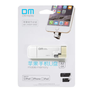 Dm Mfi USB Flash Drive OTG for iPhone iPad External Storage USB 3.0 pictures & photos